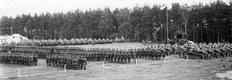 Święto 1. Batalionu Pancernego w Poznaniu, rok 1929. Na bokach placu widoczne kilkadziesiąt (co najmniej 54) czołgi Renault FT-17. Wśród nich może być kilka wersji pochodnych.