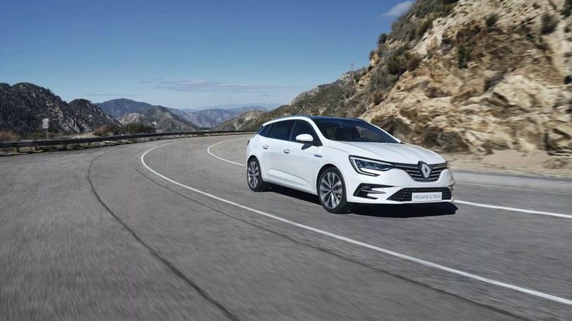 Renault Megane jest jednym z modeli wyposażonych w nowoczesną technologię E-TECH Hybrid /materiały prasowe