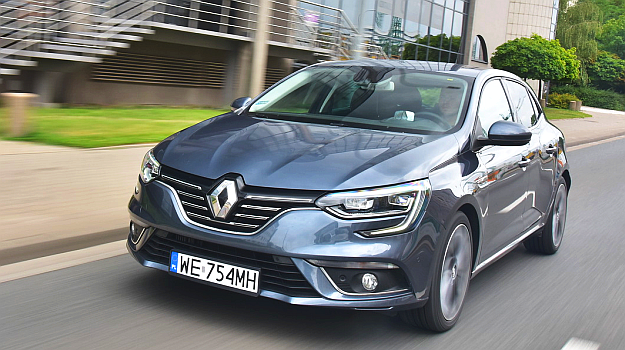 Renault Megane to jeden z najlepiej wyglądających kompaktów na rynku. Duża w tym zasługa ciekawych świateł. /Motor