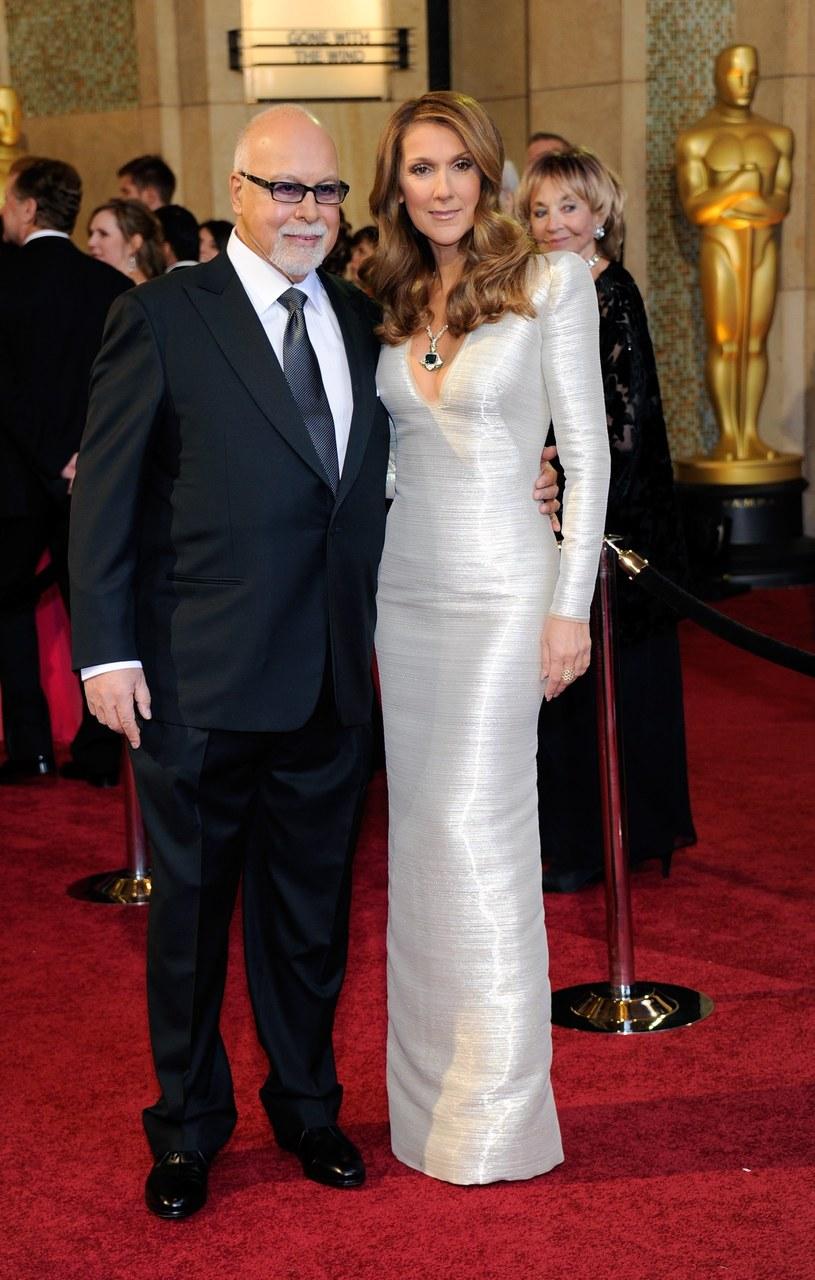 Rene Angelil, Celine Dion /Ethan Miller /Getty Images