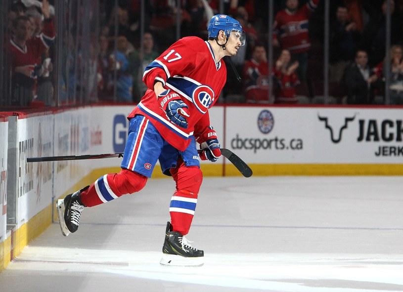 Rene Bourque z Montreal Canadiens /AFP