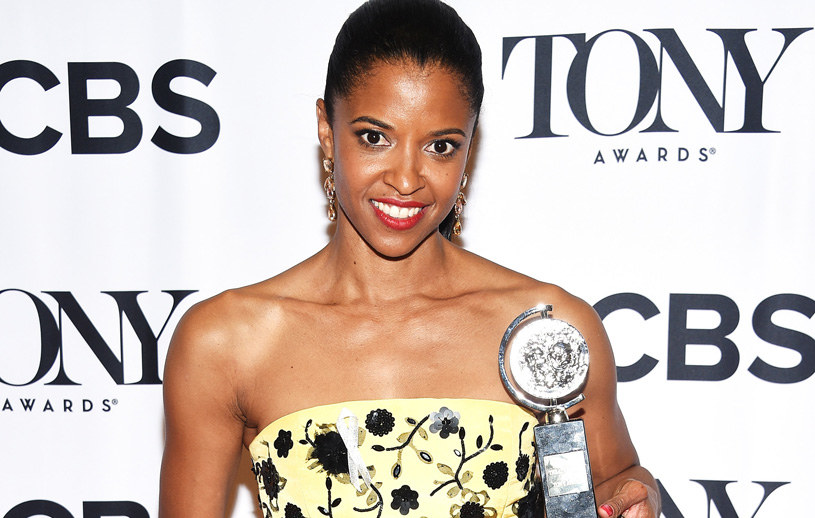 Renee Elise Goldsberry na rozdaniu Tony Awards. /Dimitrios Kambouris /Getty Images