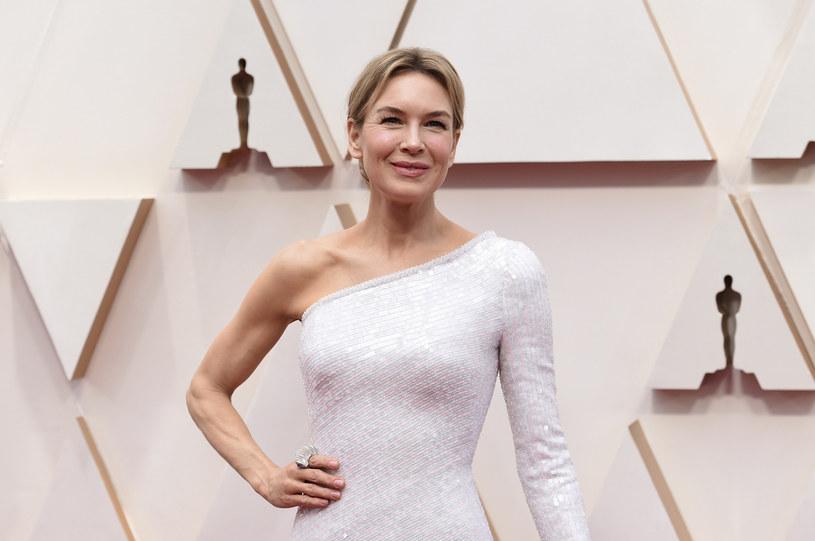 Renee Zellweger podczas tegorocznej gali rozdania Oscarów /Invision/Invision/East News /East News