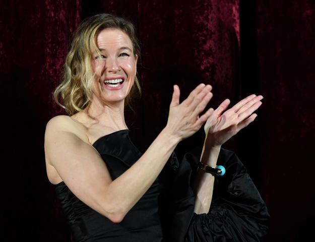 Renée Zellweger zmaga się z trądzikiem różowatym. /JENS KALAENE  /PAP/DPA