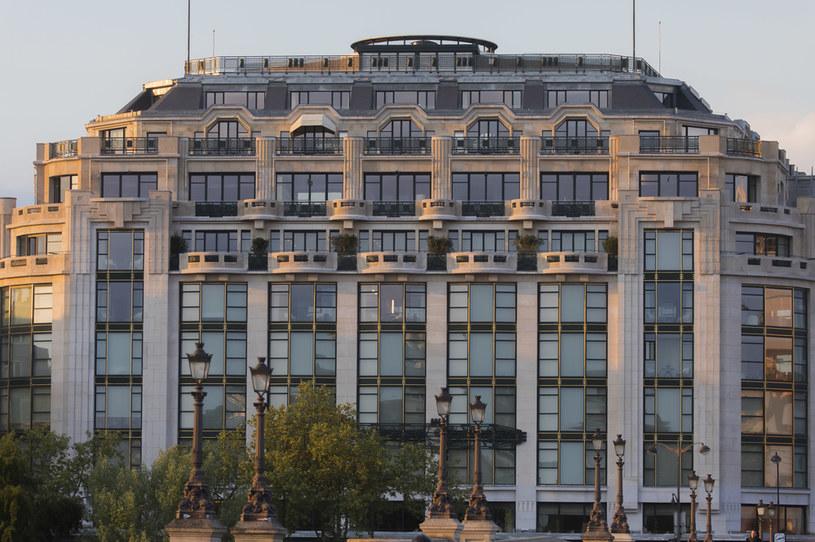 """Renowacja ekskluzywnego domu handlowego """"La Samaritaine"""" pochłonęła łącznie 750 mln euro. /Vincent Isore /Agencja FORUM"""