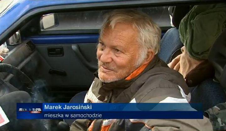 Reportaż o Marku Jarosińskim pokazała lokalna telewizja /