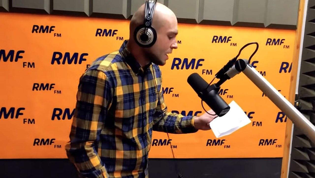 Reporter RMF FM Kuba Kaługa wziął udział w #hot16challenge2!