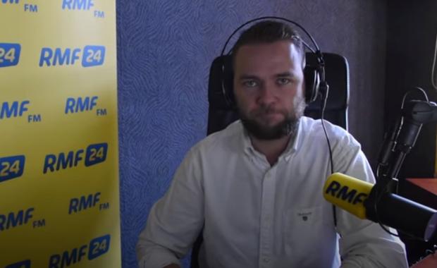 Reporter RMF FM Mateusz Chłystun w #hot16challenge2!