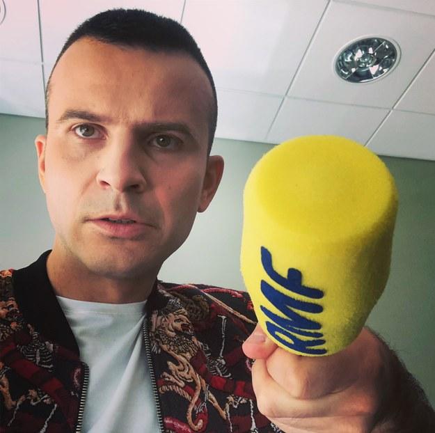 Reporter RMF FM, Michał Dobrołowicz /