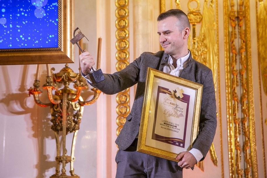 Reporter RMF FM, Michał Dobrołowicz /Fot. Marek Misiurewicz /