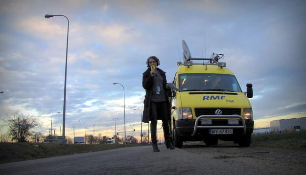 Reporterzy RMF FM specjalnie dla Was monitorują sytuację na drogach /Michał Dukaczewski /RMF FM
