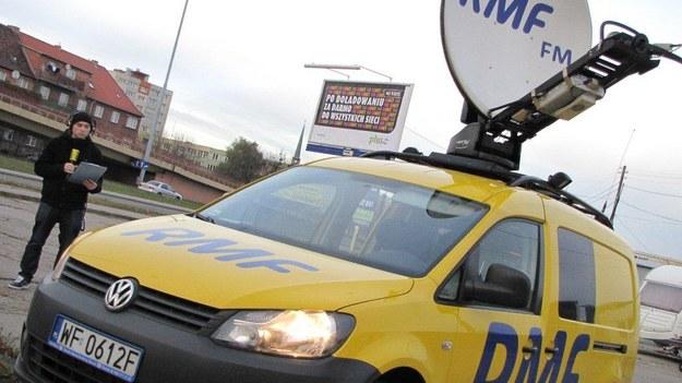 Reporterzy RMF FM tworzą dla Was specjalne raporty drogowe /Dariusz Proniewicz /RMF FM