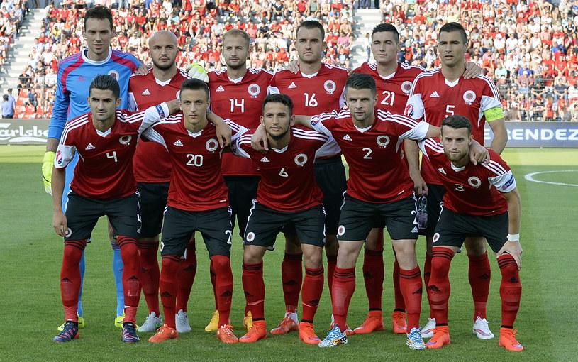 Reprezentacja Albanii /AFP