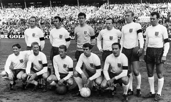 Reprezentacja Anglii z 1966 roku /AFP