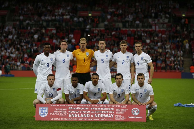 Reprezentacja Anglii /AFP