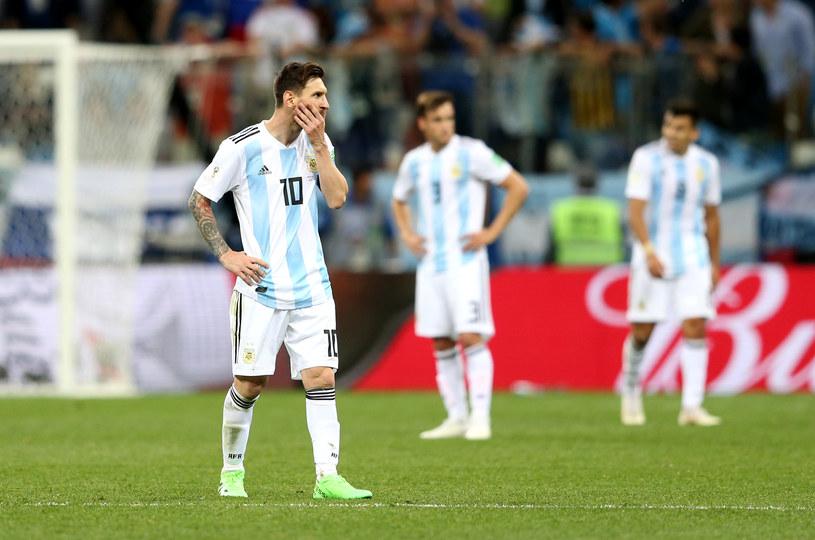 Reprezentacja Argentyny /Getty Images