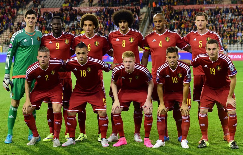 Reprezentacja Belgii /AFP