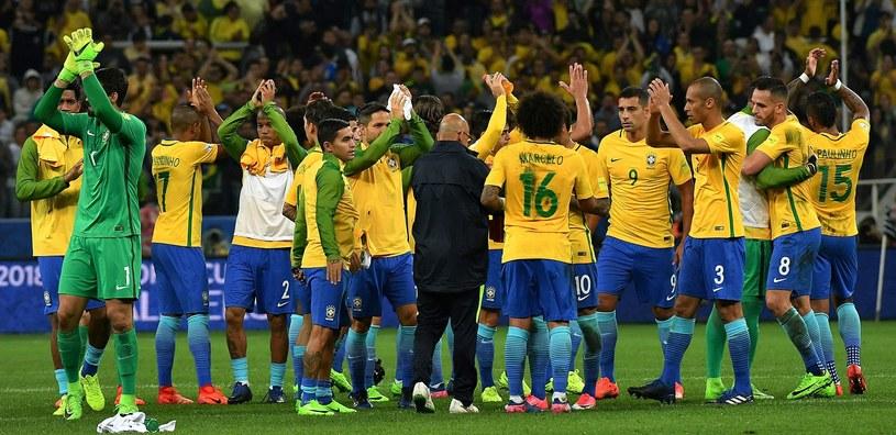 Reprezentacja Brazylii /AFP