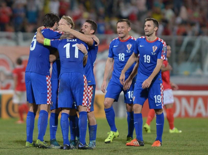 Reprezentacja Chorwacji /AFP