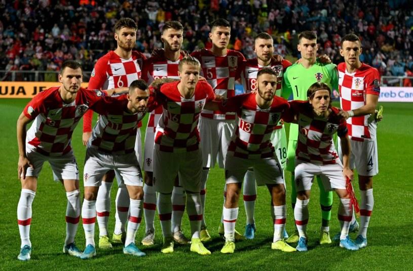 Reprezentacja Chorwacji /Denis LOVROVIC /AFP