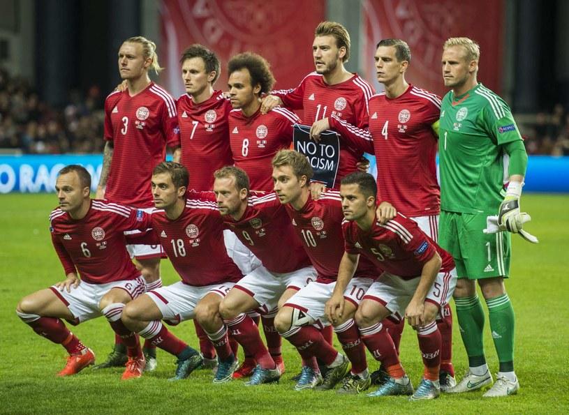 Reprezentacja Danii /AFP