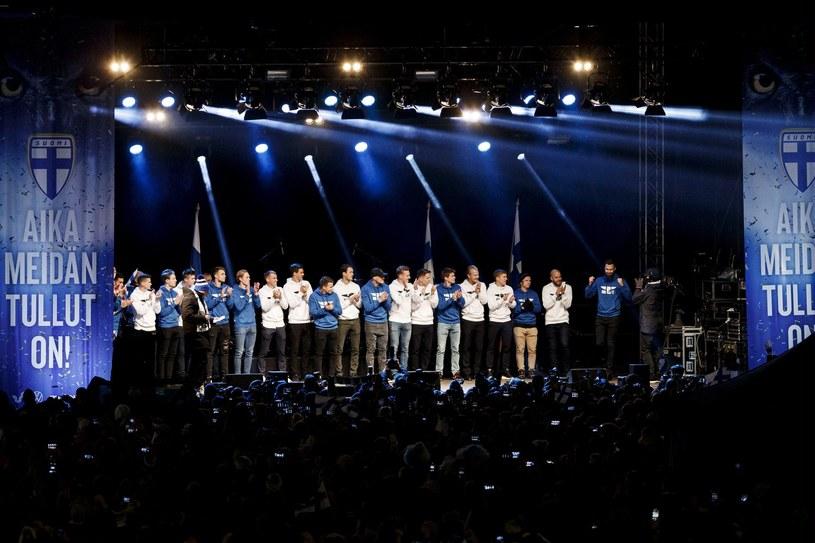 Reprezentacja Finlandii, tym razem na scenie /AFP