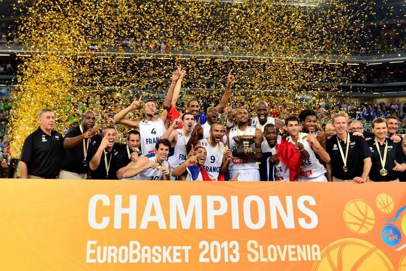 Reprezentacja Francji - mistrzowie Europy z 2013 roku /AFP