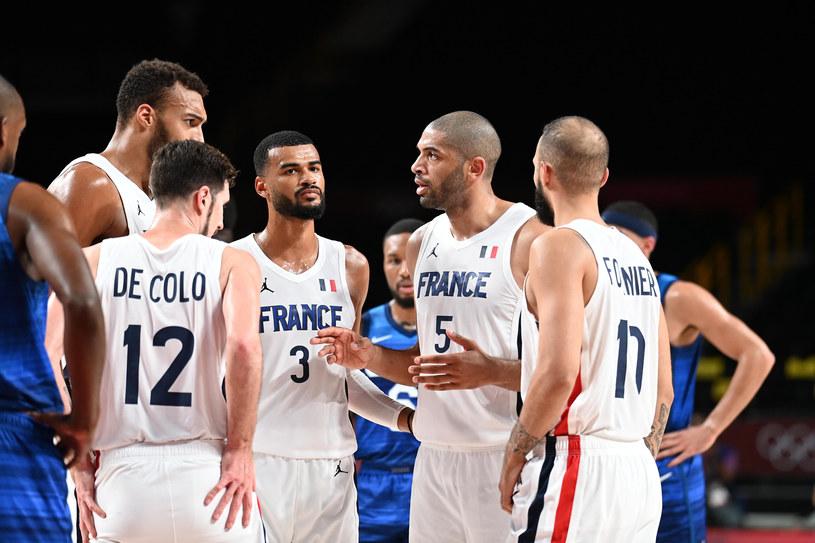 Reprezentacja Francji w koszykówce. Tokio 2020 /EXPA/NEWSPIX.PL /Newspix