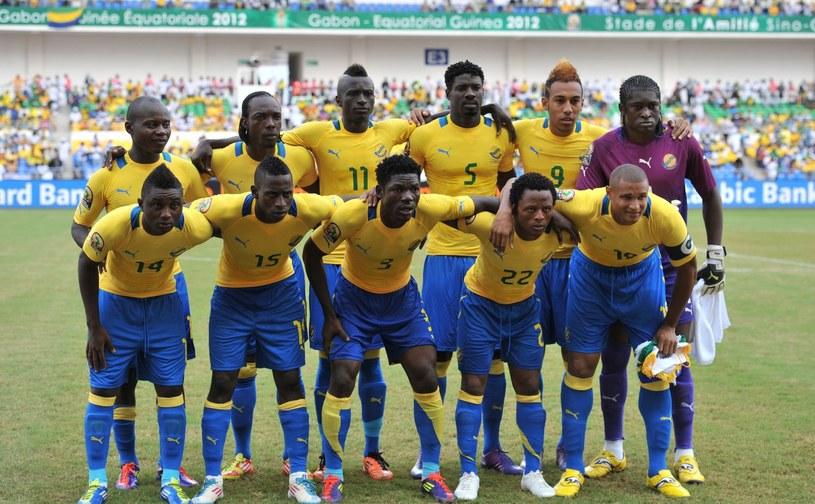 Reprezentacja Gabonu /AFP
