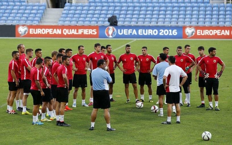 Reprezentacja Gibraltaru /AFP