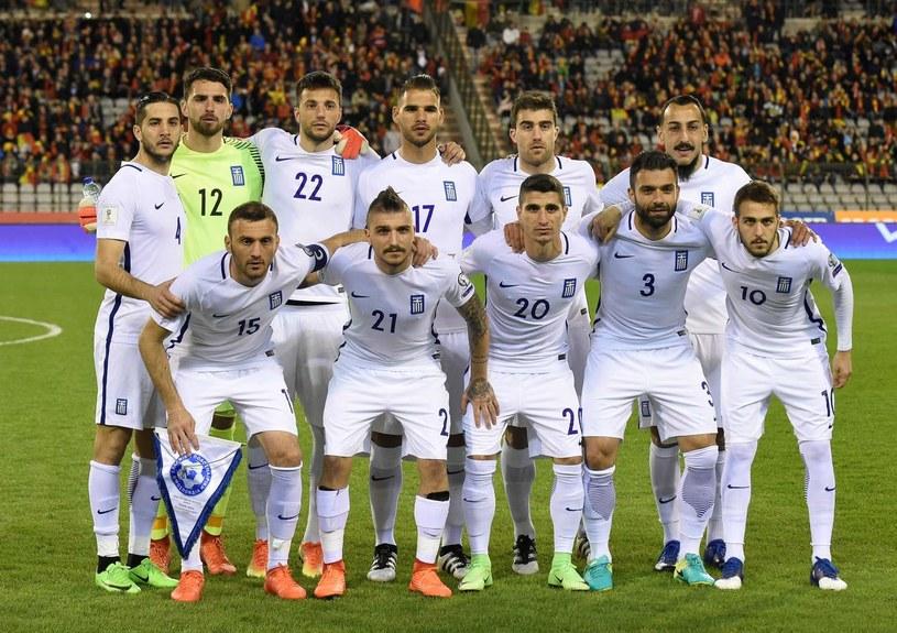 Reprezentacja Grecji w piłce nożnej /AFP