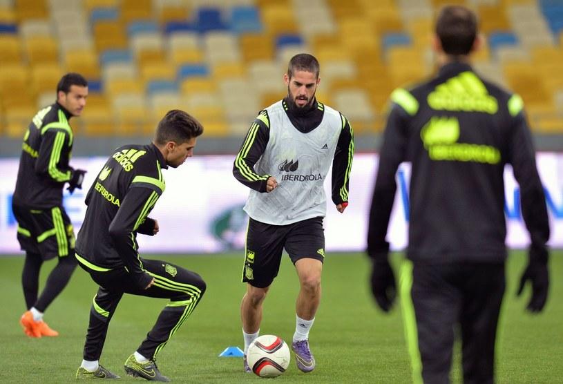 Reprezentacja Hiszpanii /AFP