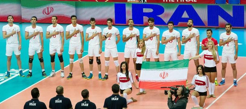 Reprezentacja Iranu może zostać wykluczona z Ligi Światowej /AFP