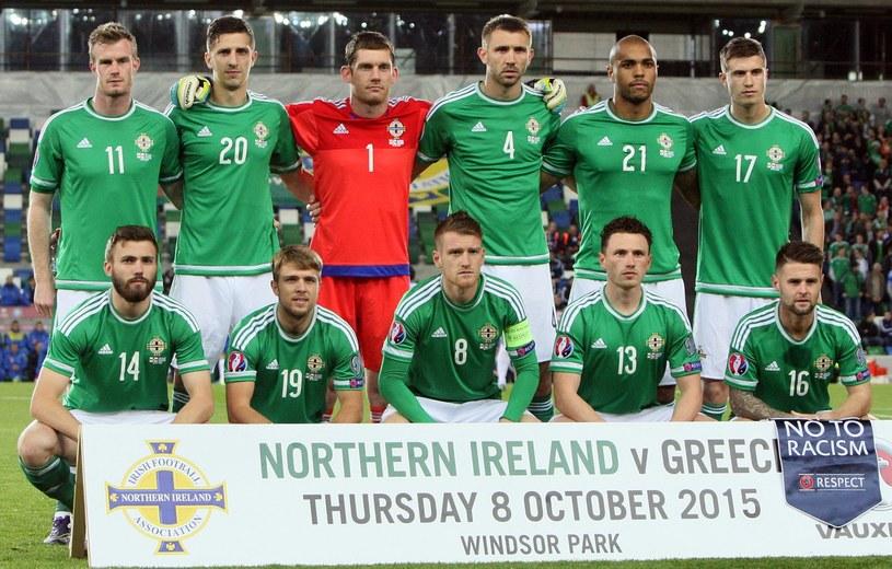 Reprezentacja Irlandii Północnej /AFP