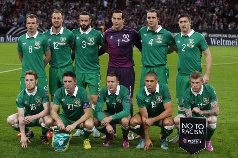 Reprezentacja Irlandii /AFP