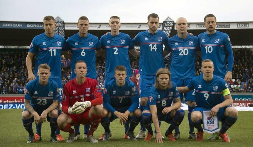 Reprezentacja Islandii /AFP