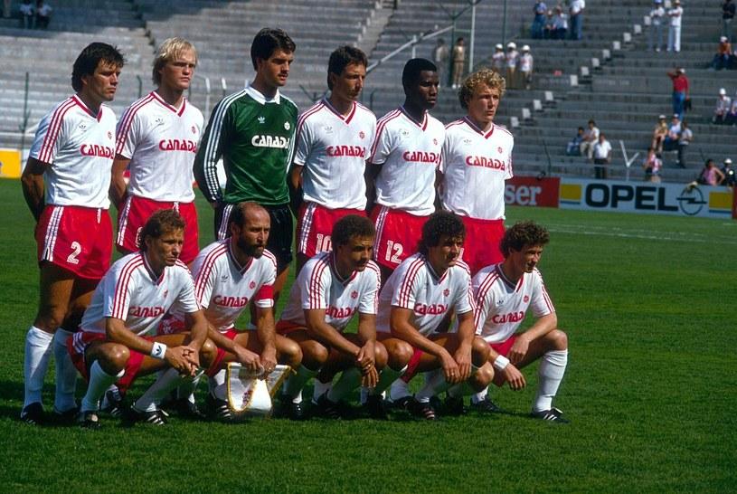 Reprezentacja Kanady z MŚ w 1986 roku /Getty Images