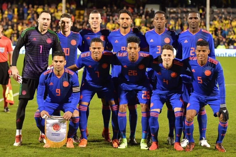 Reprezentacja Kolumbii /AFP