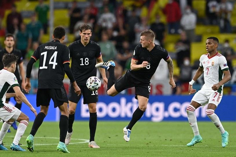 Reprezentacja Niemiec /AFP/POOL CHRISTOF STACHE/ /AFP