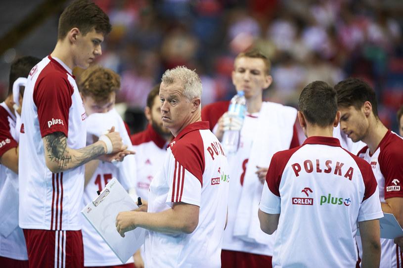 Reprezentacja Polski i Vital Heynen /fivb /Informacja prasowa