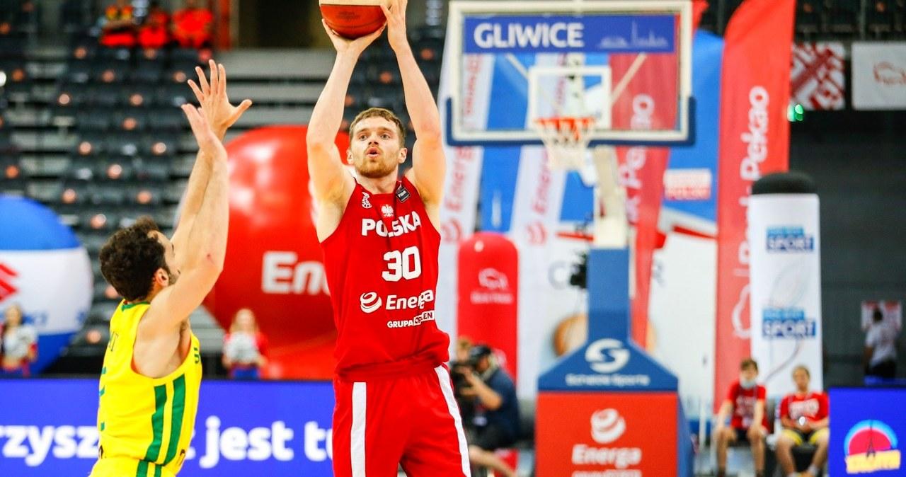 Reprezentacja Polski koszykarzy przegrała z Brazylią w meczu towarzyskim