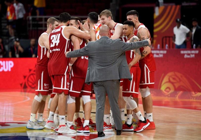 Reprezentacja Polski koszykarzy /AFP