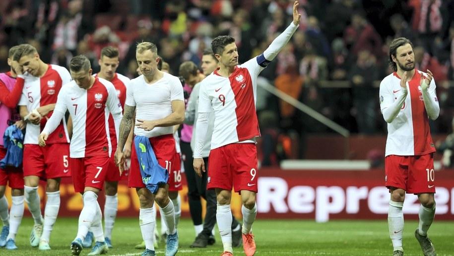 Reprezentacja Polski po meczu ze Słowenią / Leszek Szymański    /PAP