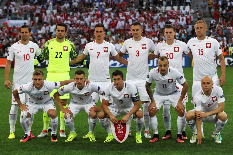 Reprezentacja Polski podczas Euro 2016 /AFP