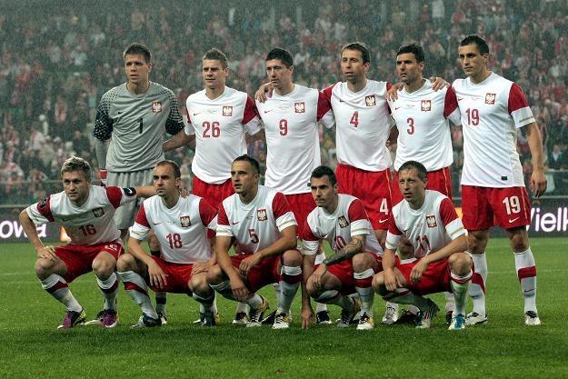 Reprezentacja Polski przed meczem z Francją /PAP