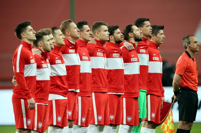 Reprezentacja Polski przed meczem /Leszek Szymański /PAP