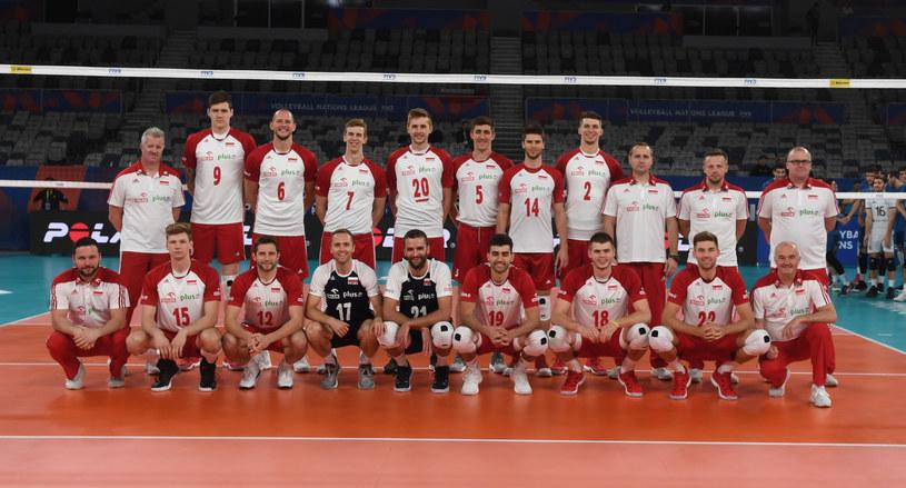 Reprezentacja Polski siatkarzy na turniej w Melbourne /www.fivb.org
