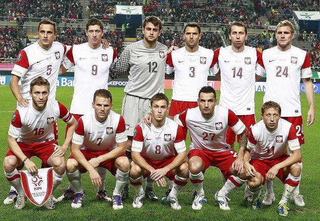 Reprezentacja Polski tuż przed meczem z Koreą w Seulu /PAP/EPA