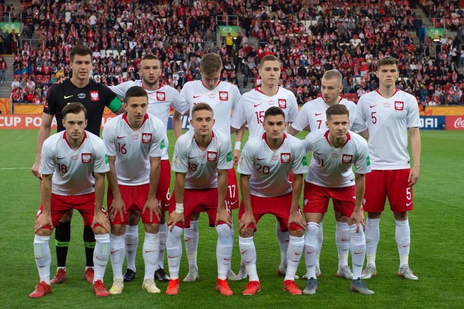 Reprezentacja Polski U-20 przed meczem grupy A piłkarskich mistrzostw świata do lat 20 z Senegalem /Grzegorz Michałowski   /PAP