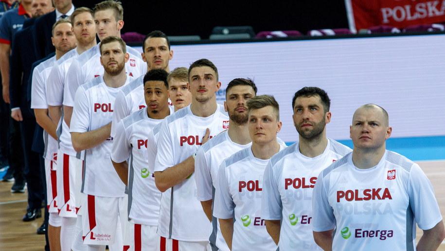 Reprezentacja Polski w koszykówce / Andrzej Grygiel    /PAP